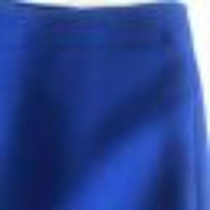 JCrew SZ 6 No.2 Pencil Skirt Royal Blue 100% Wool